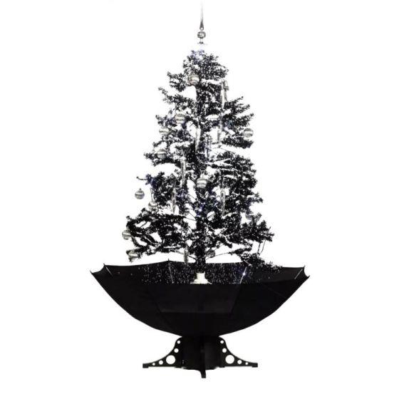 Schneiender-Weihnachtsbaum-Schwarz