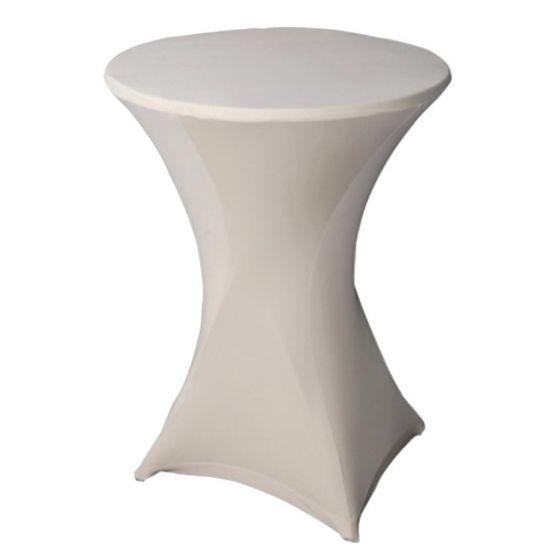 Stehtischhusse-Weiß