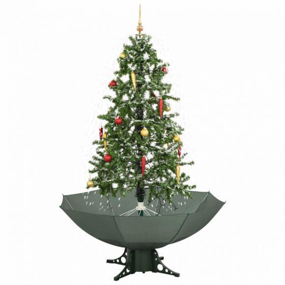 Schneiender-Weihnachtsbaum-Grün