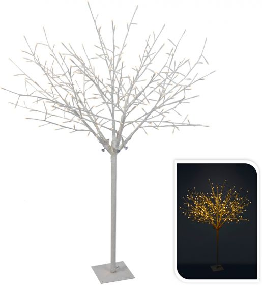 Baum-mit-Zweigen-weiß-304LED-warm-weiß-150-cm