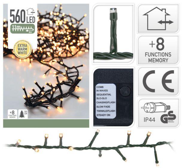 Clusterbeleuchtung-560-LED-Lämpchen-warmweiß---11-Meter