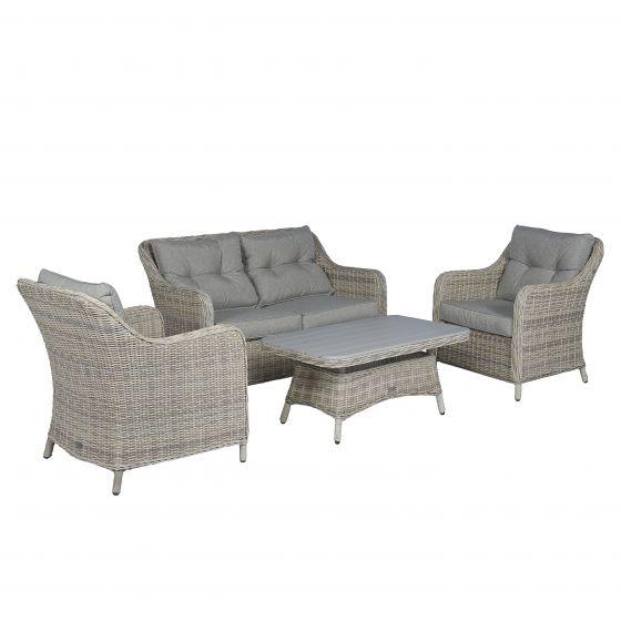 Sofagruppe-Gartensofa-Polyrattan-