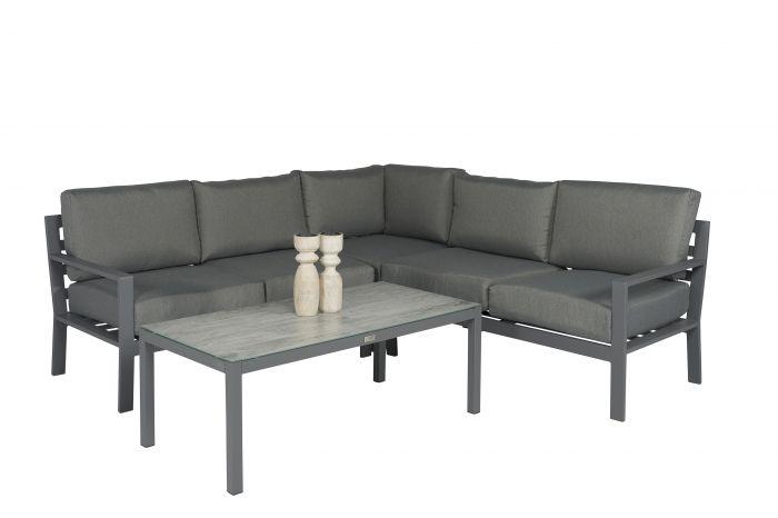 Loungeset-Eckbank-Aluminium-