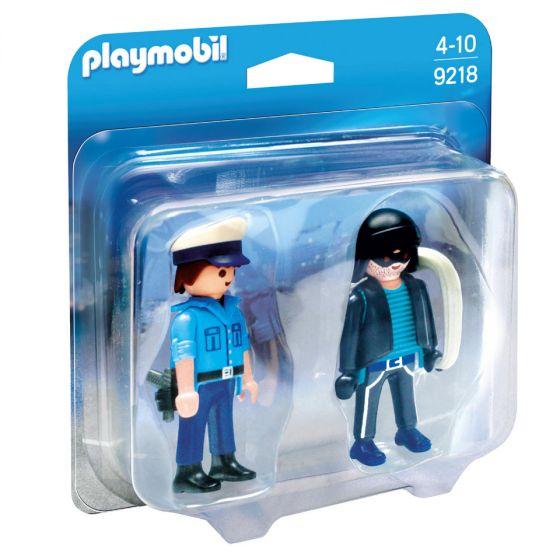 Playmobil---Duopack-Polizist-und-Dieb