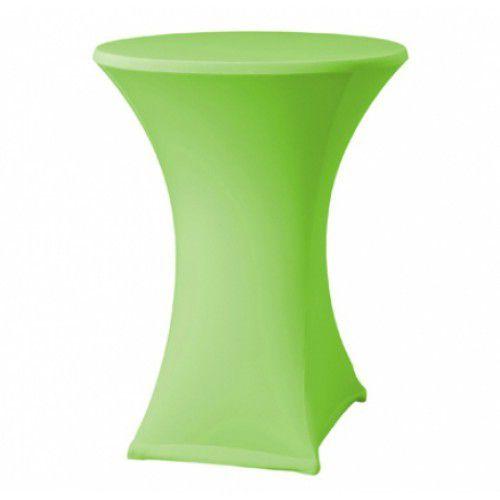 Stehtischhusse-Limettengrün