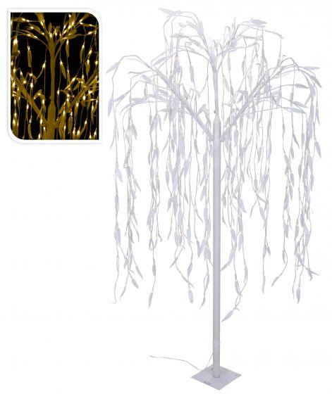 Weide-mit-360-warm-weiß-LED-Beleuchtungen-180cm