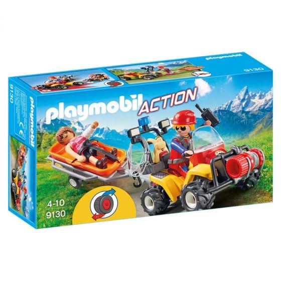 Playmobil-Rettungsquad-mit-Tragbahre