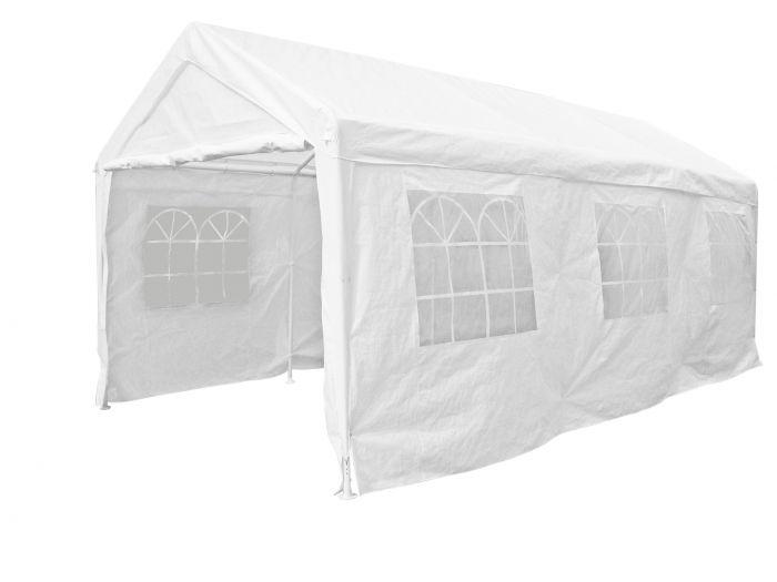 Partyzelt-4x6m-PE-140-gr/m2-weiß