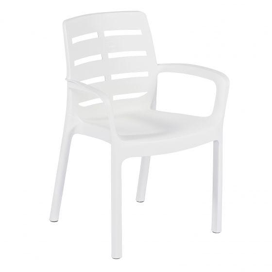 Bistrostuhl-Weiß