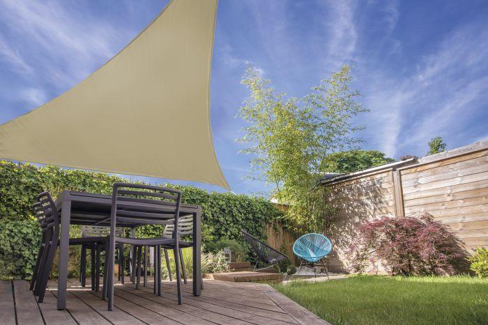 Sonnensegel-Dreieck-Sandfarbig-3,6x3,6x3,6