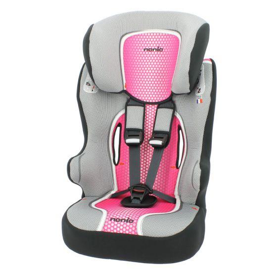 Autositz-Osann-Nania-First-Racer-Pop-Pink-1/2/3