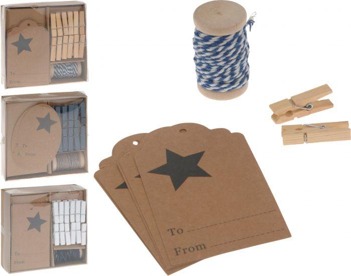 Verpackungsdekorations-Set