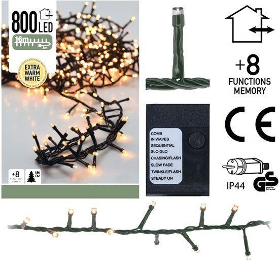 Microcluster-800-LED-Lämpchen-Warmweiß---16-Meter
