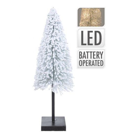 Weihnachtsbaum-mit-Schnee-und-LED-60cm