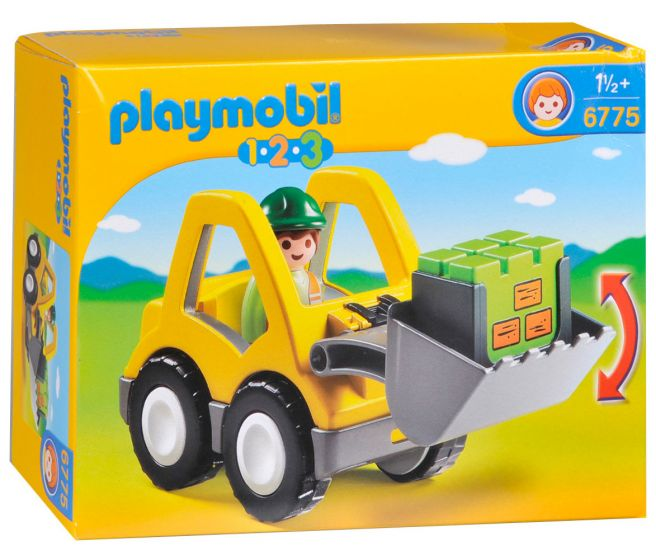Playmobil-Grabmaschine---6775
