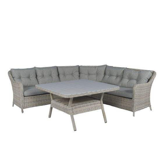 Dining-Lounge-Eckssofa-Polyrattan-Set-
