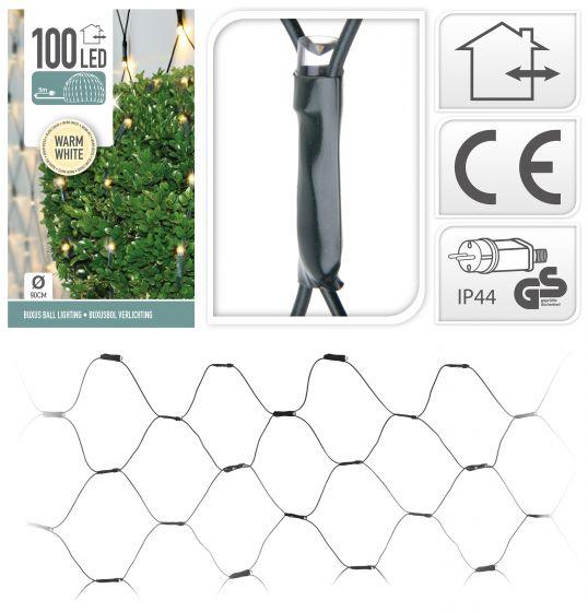 Buchsbaum-Netzbeleuchtung-100-LED-warm-weiß