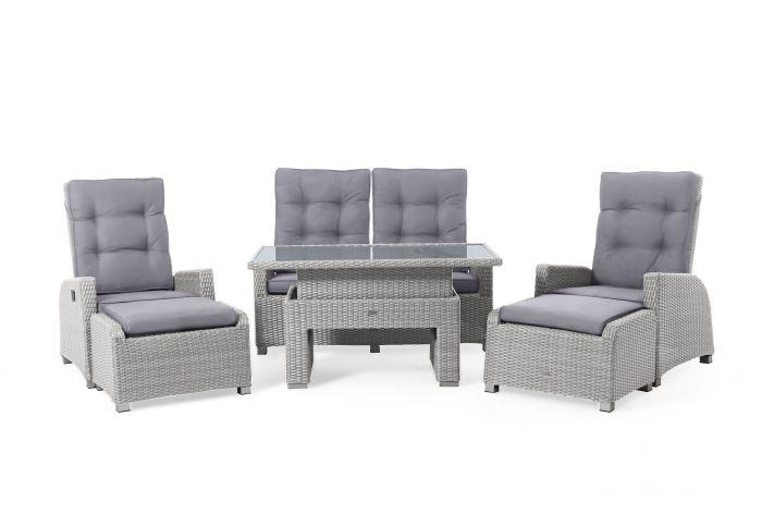 Sitzecke-Polyrattan-Dining-Lounge-Set-