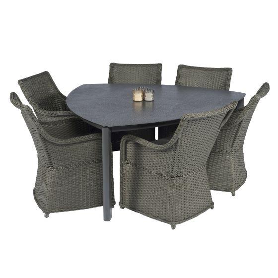 Gartentisch-Elegant-160x160x160-cm-Spraystone