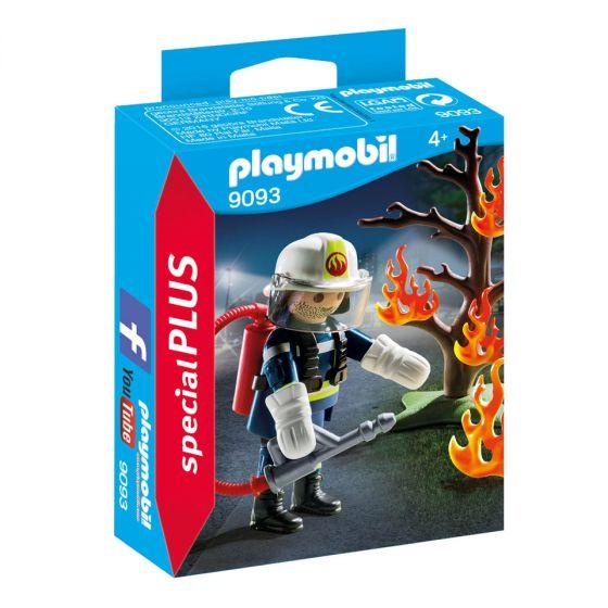 Playmobil-Feuerwehrmann-mit-brennendem-Baum