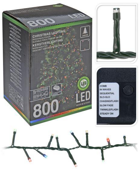 Cluster-Beleuchtung-800-LED-Multi---16-Meter