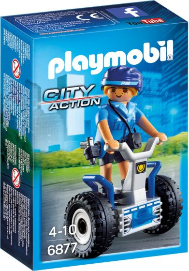 Playmobil-Polizistin-mit-Balanceracer---6877