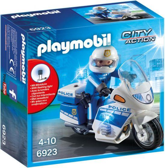 Playmobil-Motorrad-Polizei-mit-LED-Licht---6923