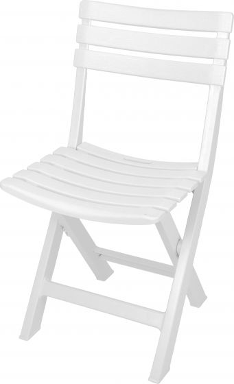 Klappstuhl-Komodo-Weiß