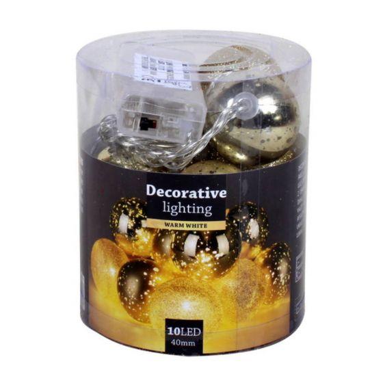Weihnachtsbaumkugeln-Gold-mit-LED-10-cm