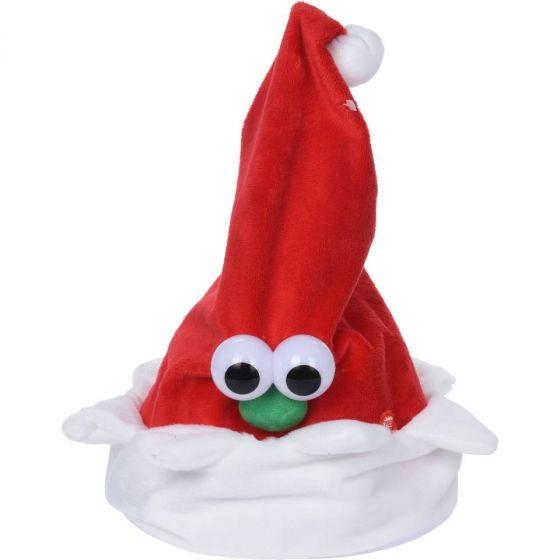 Singende-und-tanzende-LED-Weihnachtsmütze