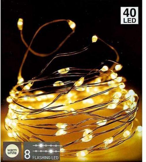 Silberdraht-40LED-warmweiß-flash