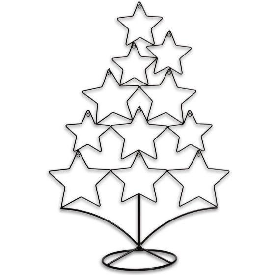 Metall-schwarzer-Weihnachtsbaum-60-cm