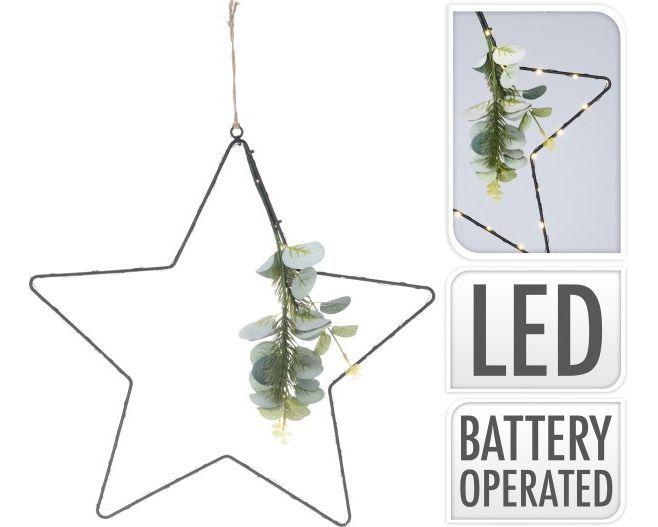 Stern-schwarz-30-LEDs-42-cm
