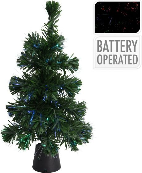 Weihnachtsbaum-Grün-Colorchanging-Fiber-LEDs-45-cm