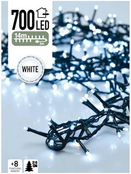Lichterkette-Weihnachtsbaum-700-LED's-14-Meter-weiß