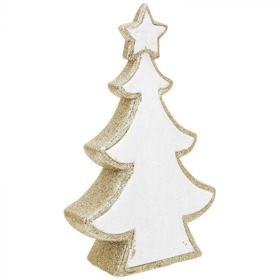 Weihnachtsbaum-aus-Dolomit-Glitzer-Weiß-und-Gold-42-cm