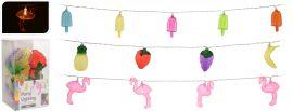 Partybeleuchtung-Flamingo/Eis/Früchte