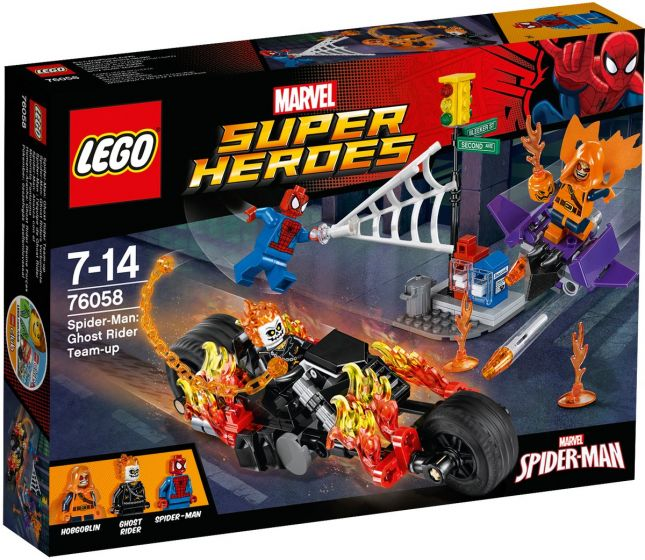 LEGO-Super-Heroes-Spider-Man:-Ghost-Riders-Verbündete---76058
