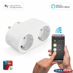 Caliber-HWP121E-Wifi-Power-Plug-(Stecker)-16A-2.0