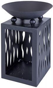 Feuerschale-mit-Holzlager---ca.-Ø45-cm