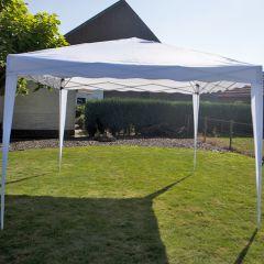 Easy-up-Partyzelt-3x3m-PE-250-gr/m2-weiß
