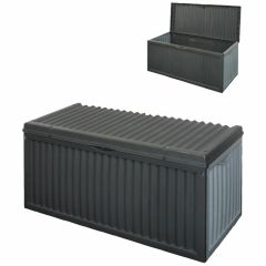 Kissenbox Grau