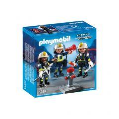 Playmobil-Trio-Feuerwehrleute---5366