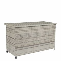 Kissenbox-Polyrattan-mit-Rollen---Sunset-Naturel