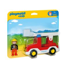 Playmobil-–-Feuerwehrwagen-mit-Leiter