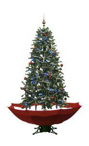 Schneiender-Weihnachtsbaum-Rot-170cm
