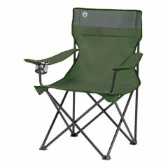 Coleman Klappstuhl standard quad grün