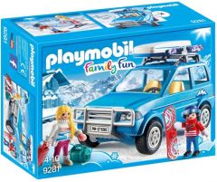 Playmobil-Family-Fun---4x4-mit-Dachkoffer-9281