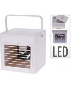 Aircooler mit Griff und LED-Beleuchtung