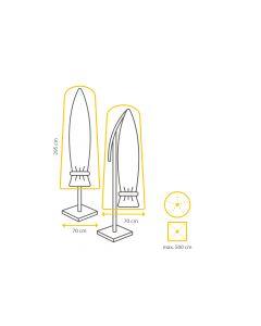 Winza Premium Parasolhoes XXL 295x70 cm